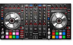 Discover the key features of the Pioneer DJ controller for Serato DJ Pro and dedicated buttons for Serato Flip (black) Best Dj Mixer, Pioneer Dj Controller, Dj Like, Dj Decks, Music Mixer, Pioneer Ddj, Serato Dj, Distortion Pedal, Design Studio Office