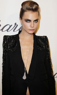 Cara Delevingne At The Chopard Trophy Ceremony At Cannes Film Festival, 2013
