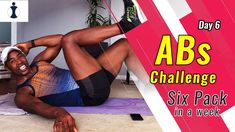 Best abs exercises for a strong core and rock hard abs. This is day 6 of a one week abs challenge. Great fitness workout for all fitness levels. One Week Abs, 6 Abs, Best Abs, Six Pack Abs, Exercises, Core, Challenges, Strong, Workout