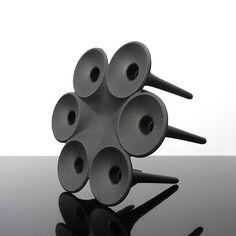 cast iron candle holder / Hornblower / Christer Holmgren /