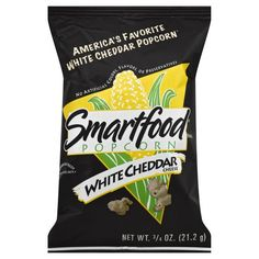 Smartfood Popcorn, the best munchies on earth, try a bag and you will be hooked! White Cheddar Popcorn, Cheese Popcorn, White Cheddar Cheese, Smartfood Popcorn, Cheese Online, Snack Recipes, Snacks, Pregnant Diet, Chicken Meal Prep
