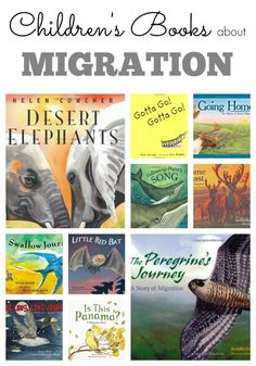 Childrens Books about Migration. Teach kids about life science and zoology with this amazing list of children's books. Teaching Science, Life Science, Science Books, Library Science, Preschool Education, Kindergarten Science, Elementary Science, Creative Teaching, Preschool Learning