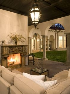 BEAUTIFUL!!!  What a dream space!!  Mediterranean Design, Pictures, Remodel, Decor and Ideas -
