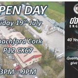 O'Donovan Engineering Open Day 19th July 3pm-9pm