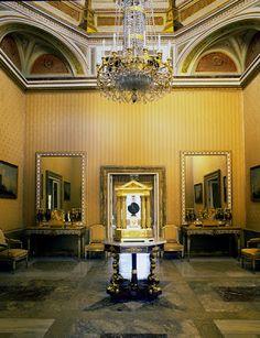 Sala en La Casita del Infante. El Escorial