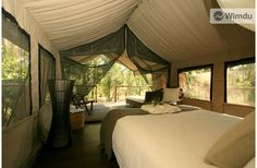 Glamping in a Deluxe Safari tent - Private room - Jervis Bay