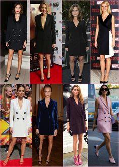 I& wishing: Tuxedo dress! - Fashionismo - tuxedo dress Source by tinatinak - Blazer Dress, Jacket Dress, Dress Outfits, Fashion Outfits, Womens Fashion, Plus Size Dresses, Short Dresses, Tuxedo Dress, Look Fashion