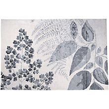 Buy Designers Guild Jindai Rug, Graphite Online at johnlewis.com Botanical feel to this rug is lovely