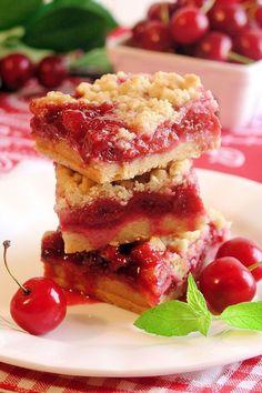 Cherry Pie Crumble Bars 2