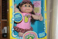 Cabbage Patch Kids Glow Party Name Shelly Veronica Birth July 9th Bnip | eBay