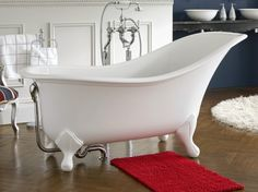 Taking its from the original Victorian slipper bath with added modern day opulence, refinement and beautiful rim detailing,the size and shoulder support provides a sublime bathing experience.it Ultimate freestanding bath.