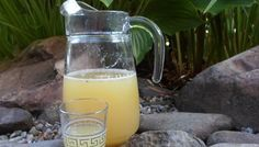 Libanese limonade van citroen, gember en munt