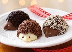 Chocolate Hedgehog truffles