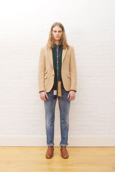 Shipley & Halmos Fall 2013 Menswear Collection Slideshow on Style.com