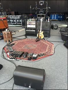 Trey Anastasio's Summer 2015 rig
