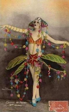 Casino de Paris postcard http://www.pinterest.com/beesonpie/vintage-images/