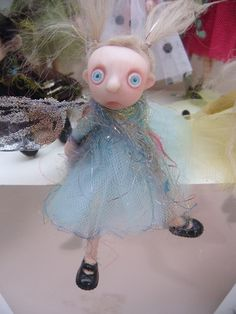 scared little girl in blue ... by DinkyDarlings