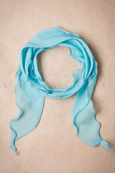 Endless combination possibilities with this 50s Retro Scarf and Headband in  Sky Blue!Sweeten up 27e48a81b8d39
