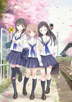"My favorite anime >_< ""hanasaku iroha"" Anime School Girl, Anime Girl Cute, Beautiful Anime Girl, Kawaii Anime Girl, Anime Art Girl, I Love Anime, Anime Girls, Manga Girl, Manga Anime"