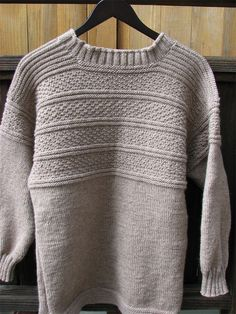 Ravelry: sfgrandma's Staithes Gansey in Wheat Color