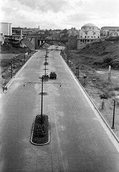 Avenida 9 de julho, em 1940