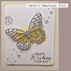 Stampin 'Up! Leadership swaps - SU - Butterfly Basics, Perpetual Birthday Calendar - CAS from Caro