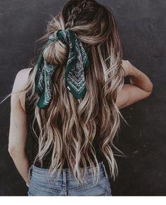 Braided and scarf | Inspiring Ladies
