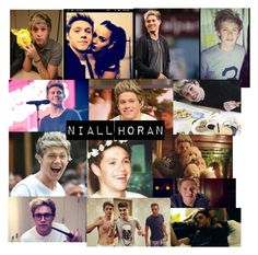 """""""Niall Horan! ❤️❤️❤️"""" by fangurl-of-bands ❤ liked on Polyvore featuring art, OneDirection and NiallHoran"""