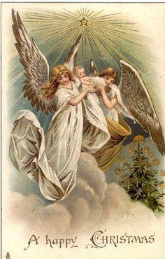Vintage Angel Clip Art Free | ... - angel, angels, vintage, xmas, christmas, holidays, free, clipart