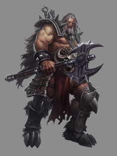 Diablo III Art Gallery / Barbarian.