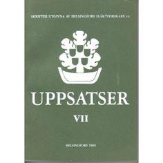 Uppsatser VII (1985)
