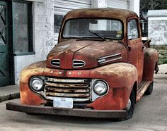 Ford truck -1948-1950 I have one of these now in my Resto Album Board
