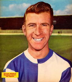 Bryan Douglas Blackburn Rovers, Football, Sports, England, Image, Soccer, Hs Sports, Futbol, American Football