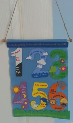 Petersham Bible Book & Tract Depot: Creation Banner Craft Kit