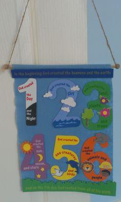 Petersham Bible Book & Tract Depot: Creation Banner Craft Kit