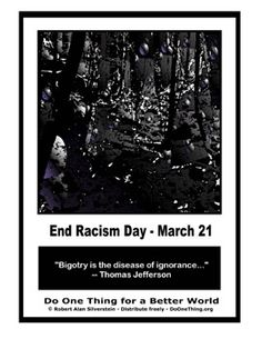 Do One Thing - End Racism Day - March 21
