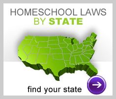 Homeschool laws by state  @thederochefamily