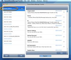 TRANSFER IPHONE GRATUIT TANSEE TÉLÉCHARGER CONTACTS