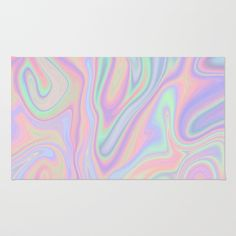 Liquid Colorful Abstract Rainbow Paint Beach Towel by PELA - Beach Towel Painted Rug, Rainbow Painting, Classic Home Decor, Oversized Beach Towels, Throw Rugs, Print Design, Weaving, Tapestry, Abstract