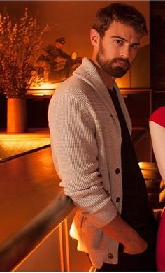 love a man in a cardy and a beard
