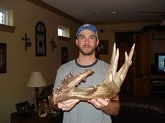 Whatcha think about this shed? This buck would have been a keeper.