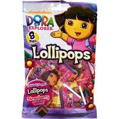 Dora the Explorer Party loot bags DORA Party Pinterest Loot