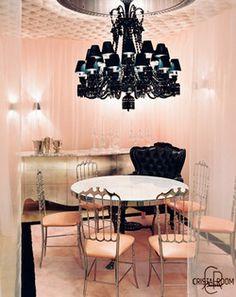 Fab black chandelier