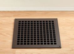 Square Pattern Metal Vent Cover in Oil Rubbed Bronze, Black, Silver, and Gray (Paintable) - Vent Covers Unlimited