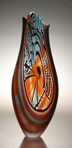 Afro Celotto Art Glass Vivido