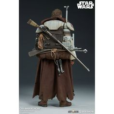 After Revenge of the Sith and before A New Hope there is the Star Wars Obi-Wan Kenobi Mythos Sixth-Scale Figure. From brave general in the Clone Wars to a Star Wars Rebels, Star Wars Clone Wars, Star Wars Art, Sideshow Statues, Sideshow Star Wars, Jedi Cosplay, Star Wars Characters Pictures, Star Wars Design, Comic Manga