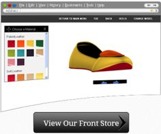 Now express your unique and stylish sense of fashion with the online shoes design tool and custom t-shirt design tool.