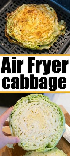 Air fryer cabbage steaks are so good. Easy to do in a Ninja Foodi or other brand. Vegetable low carb and keto friendly side dish. Steak Sides, Steak Side Dishes, Keto Side Dishes, Fall Recipes, Dinner Recipes, Easy Low Carb Lunches, Low Carb Recipes, Healthy Recipes, Curry Recipes