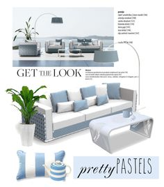 Color Challenge: Pretty Pastels by viva-12 on Polyvore featuring polyvore, interior, interiors, interior design, home, home decor, interior decorating, canvas, colorchallenge and prettypastels
