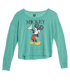 Mickey Mouse Long Sleeve (For chilly nights)